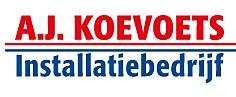 Logo van A.J. Koevoets Installatiebedrijf B.V.
