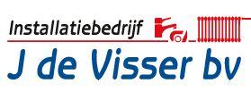 Logo van Installatiebedrijf J. de Visser B.V.