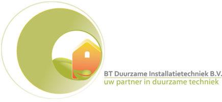 Logo van BT Duurzame Installatietechniek