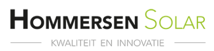 Logo van Hommersen Solar