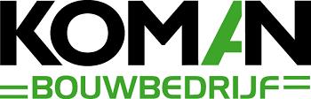 Logo van Bouwbedrijf Koman B.V.