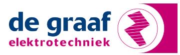 Logo van De Graaf Elektrotechniek