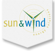 Logo van Sun & Wind energy