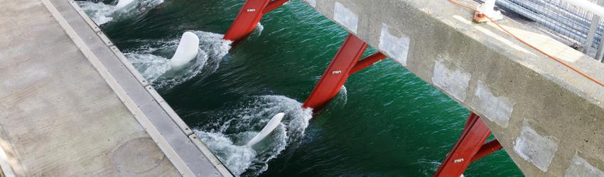 Eerste Nederlandse getijdencentrale op Texel