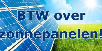 BTW-over-zonnepanelen