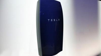 Thuisaccu van Tesla