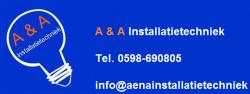 Logo van A & A installatietechniek