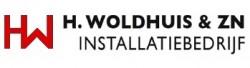 Logo van H. Woldhuis & Zn. Installatiebedrijf