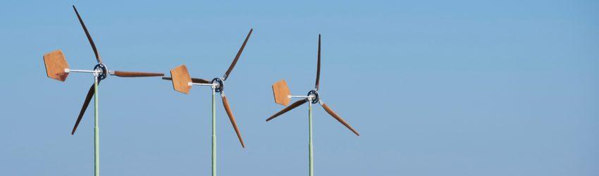 De kleine windmolen maakt windenergie weer aantrekkelijk