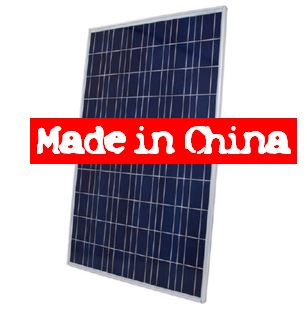 Importheffing Chinese Zonnepanelen