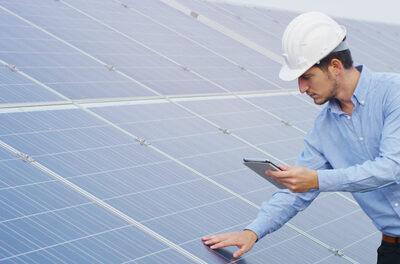 Keuring zonnepanelen-systeem