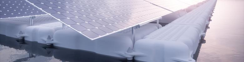 'Drijvende zonnepanelen leveren veel meer op'
