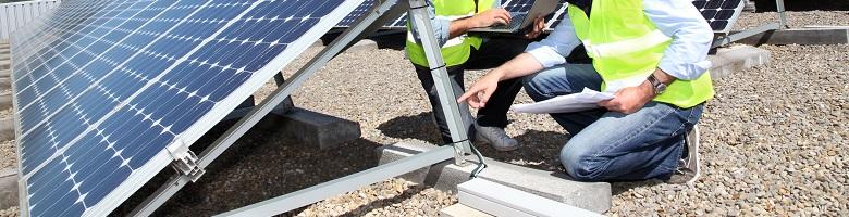 Certificaat voor zonnepanelen