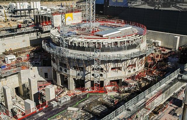 Kernfusie reactor Frankrijk in aanbouw
