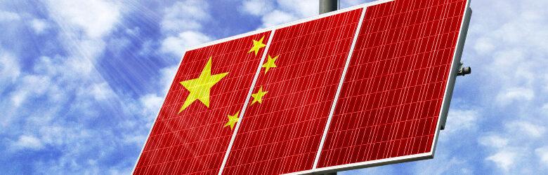 Chinese zonnepanelen mogelijk product van dwangarbeid