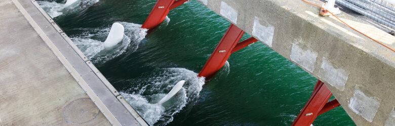 Kansen getijdenenergie in Nederland